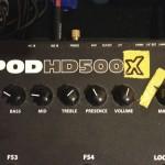 Neuer Line 6 POD HD500 mit 'nem X