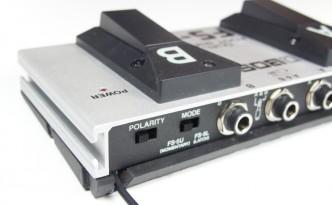 Boss FS-6 mit Netzteilanschluss