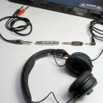 Verschieden Steckverbinder von zweimal Klinke auf Kopfhörer